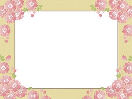 벚꽃 무늬의 프레임 6