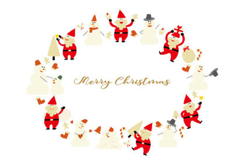 クリスマスフレーム01