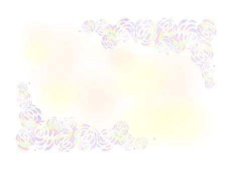 Rose background Rainbow
