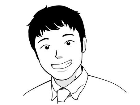 微笑的商人