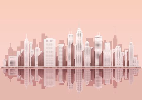 一個大城市的例證