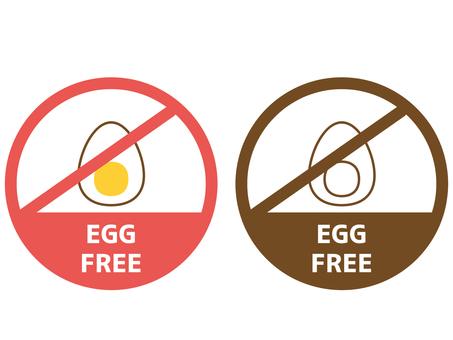 Food allergy label egg
