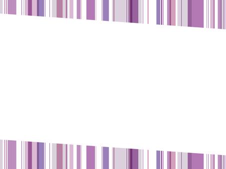 "Striped frame ""Purple"""