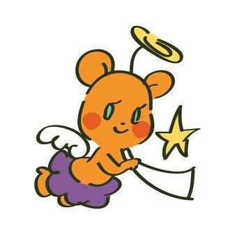 Angel of a bear