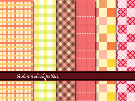 Check pattern Fall 04