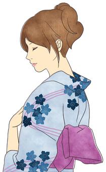 Yukata women