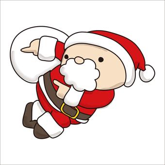 Pointing Santa 5