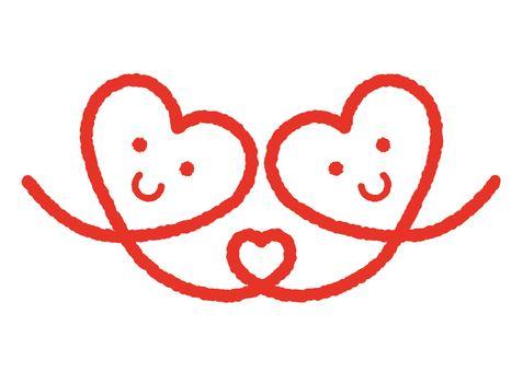 Heart 29_16 (couple / couple)