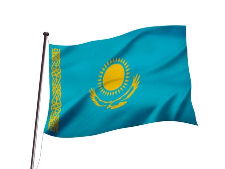 Kazakhstan flag image