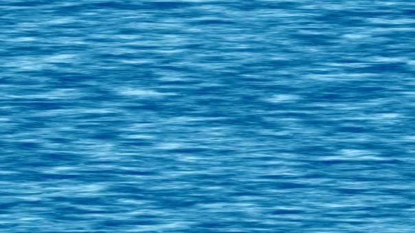 Soft sea wave