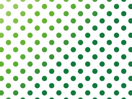 """Polka dot 2 """"Green"""""""