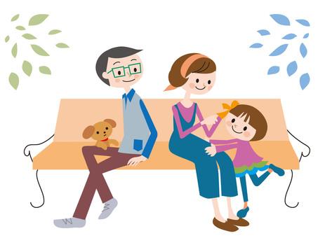 부부와 어린이