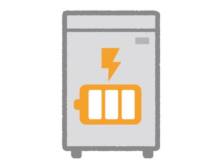 Storage battery illustration 02