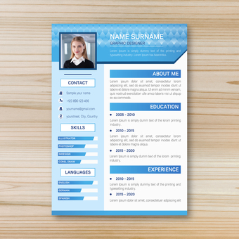 Business template resume 7