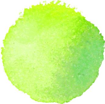 Watercolor ball
