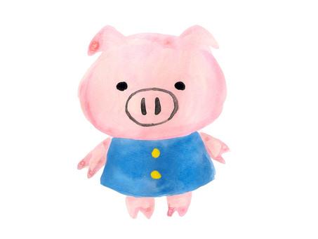 Kindergarten pig