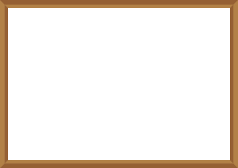Picture frame (brown)