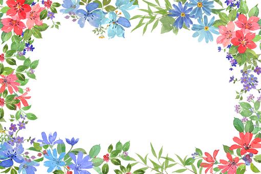 꽃 프레임