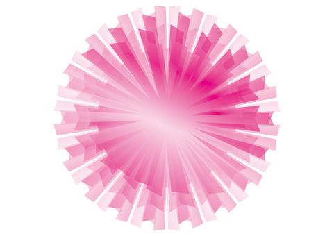 Pink Spark 3D