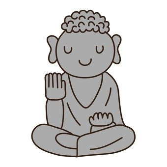 Cute little Buddha