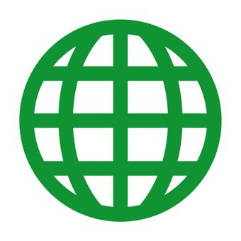 글로벌 지구 환경 아이콘