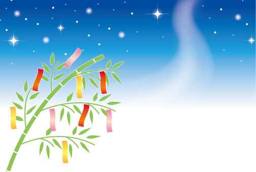 Tanabata frame background