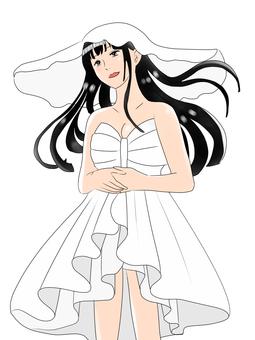 Model woman (white)
