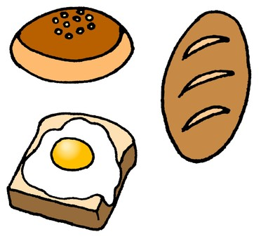 빵 3 개 세트