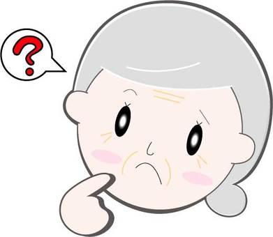 Hatena / Face / Senior Woman