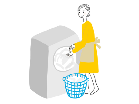 Woman to wash