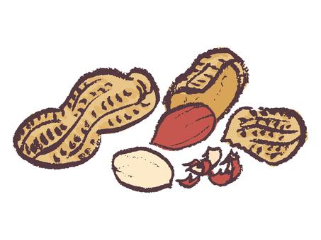 Peanut (shell peeling)