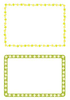 Floret frame green