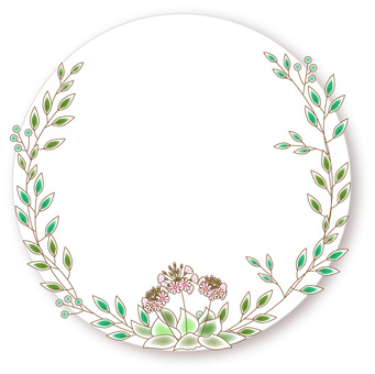 Flower wreath_35