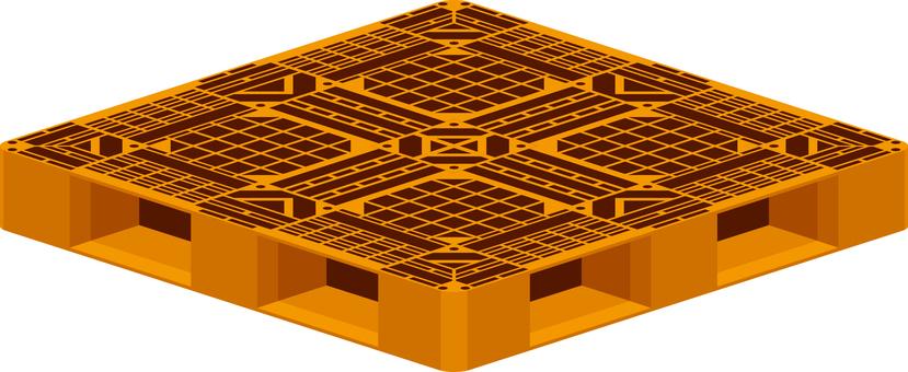 Palette Orange