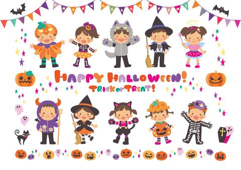 Halloween children summary
