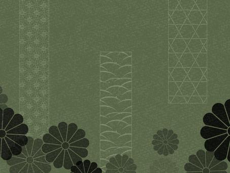 日式框架07 /綠色