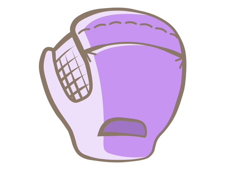 Mitt-purple 190729