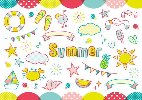 夏のモチーフいろいろ_A