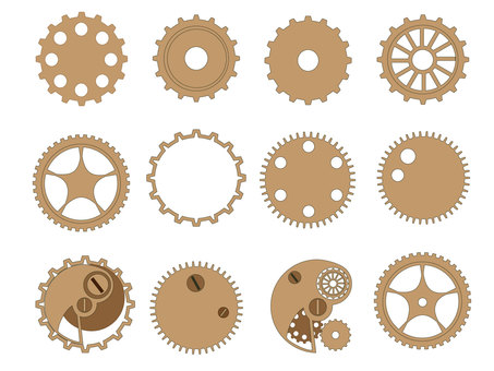 Gear Flat Type (Beige)