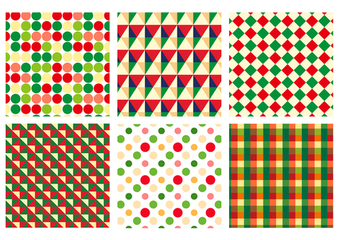 Wrapping pattern for Christmas 01