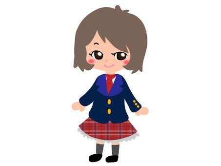 Student series _ girl 03