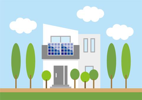 Eco Power Generation Housing B 2 (Veranda Sunlight)