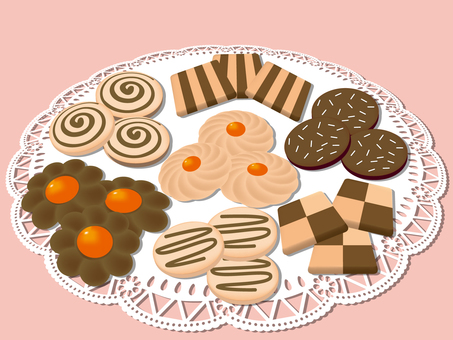 Assorted cookie