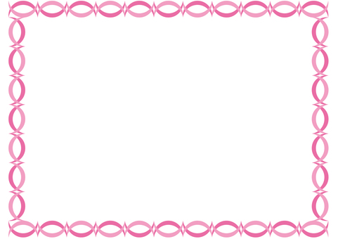 Frame-half moon reversal-pink