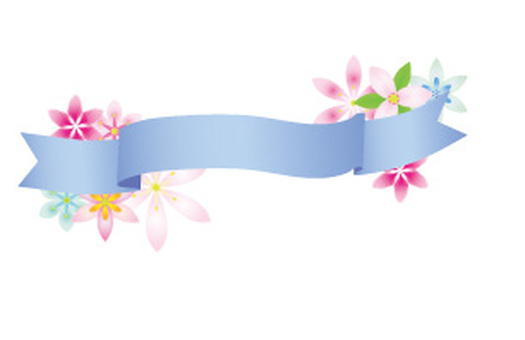 Ribbon title frame