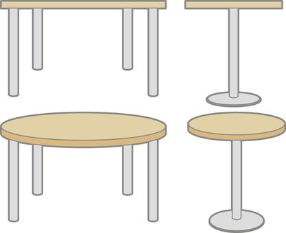 카페 테이블