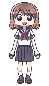 Schoolgirl 1