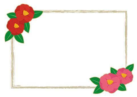 Camellia frame 2
