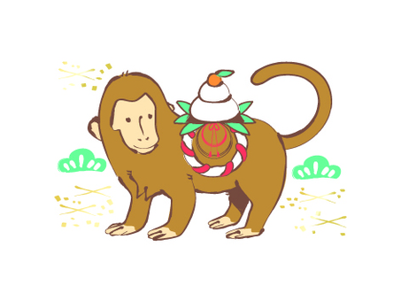 New Year's monkey