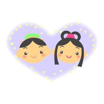 Orihime and Hikaru, Heart